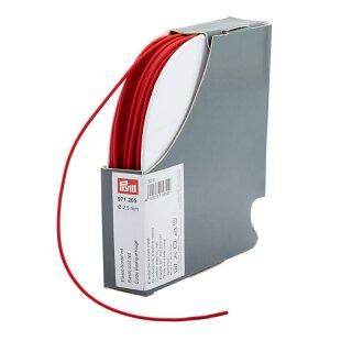 Elastic-Kordel/ 2,5 mm/ rot
