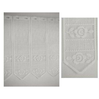 Panneaux - Stoff 066 weiß 60 cm
